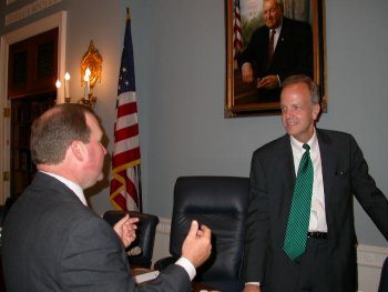 CFTC Chairman Newsome and Chairman Moran, Subcommittee on General Farm Commodities and Risk Management