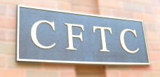 CFTC logo over spreadsheets
